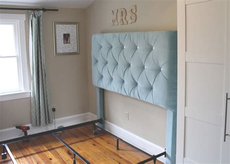 how to hang a headboard on a wall tufted headboard kimberly renee design