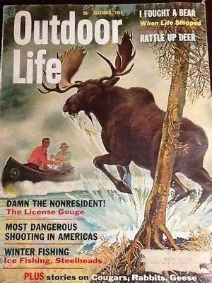 vintage february 1945 outdoor life magazine hunting pin by rob royalty on hunting fishing magazine covers
