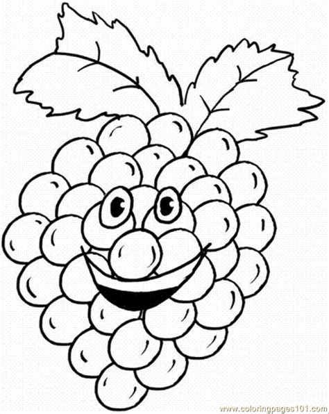grapes coloring pages to print coloring pages grape 1 food fruits gt grapes free