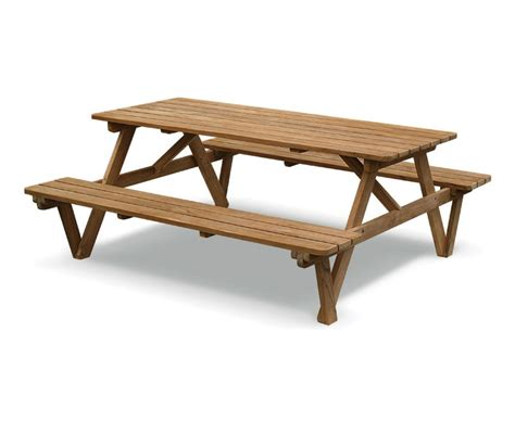 teak picnic table with benches pub table bench penny covered table diy penny table top interior designs