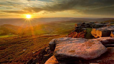 Landscape Uk Landscapes Peak District National Park Wallpaper