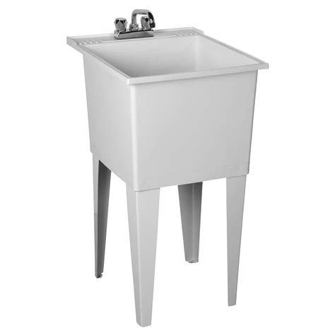 laundry in bathtub p1 polyethylene laundry tub with legs laundry sink fiat products fiat products