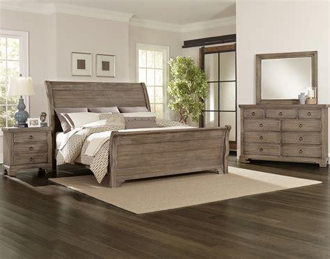 king bedroom ideen vaughan bassett whiskey barrel distressed king sleigh bed