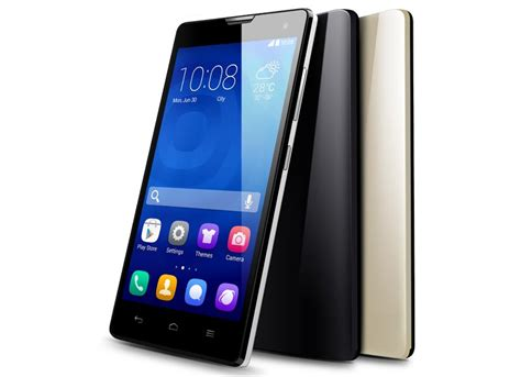 Huawei Honor 3c Back huawei honor 3c with 5 inch screen launched in india at rs 14 999