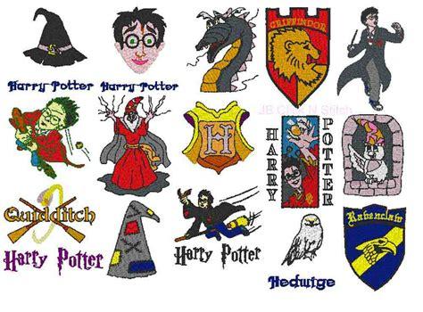 harry potter embroidery designs harry potter jb click n stitch