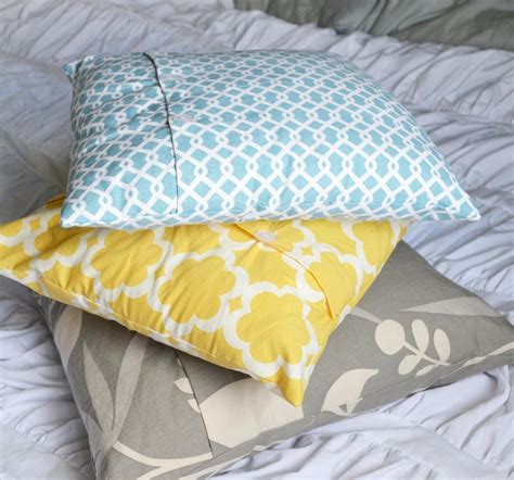 how to make a slipcover for a pillow make your own diy throw pillows using affordable materials