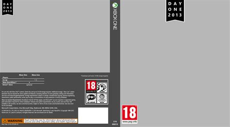 xbox one cover template xbox one cover template by saikuro on deviantart