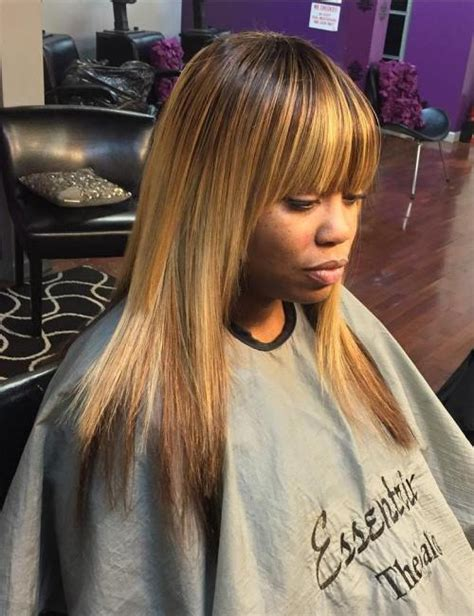 Sew In With Bangs Hairstyles by Sew 30 Gorgeous Sew In Hairstyles