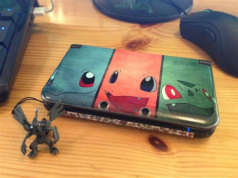 nintendo 3ds xl skin template new custom 3ds xl skin 6 here i come videogames