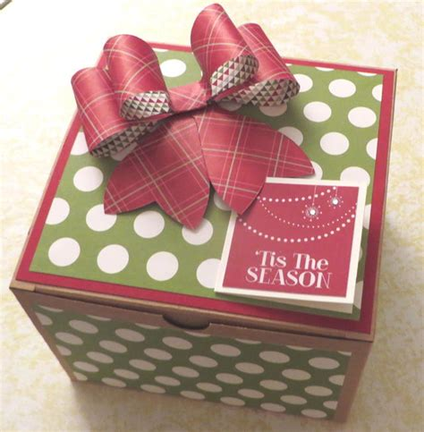 extra large kraft gift box with gift bow buy the kraft