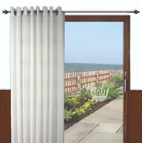 patio curtain panel oyster bay patio panel with wand