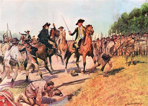 the war of the battle of monmouth