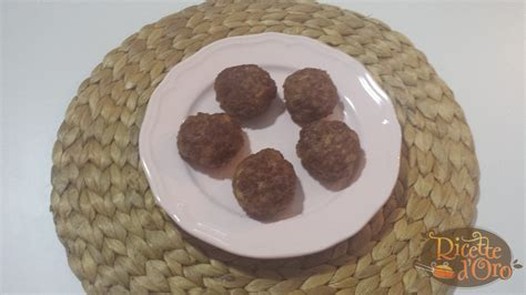 come cucinare polpette di carne polpette di carne ricetta di ricette d oro come si fanno