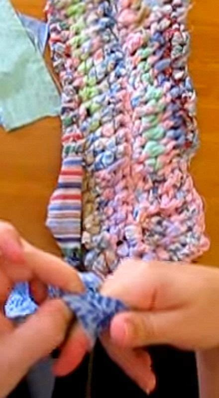 how to make an amish knot rug 17 best ideas about rag rug tutorial on handmade rugs rag rugs and diy rugs