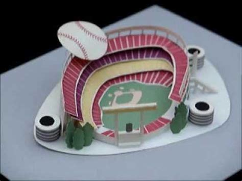 How To Make A Football Stadium Out Of Paper - paper stadium