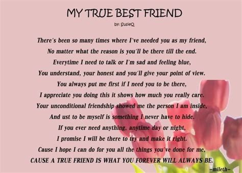 25  best ideas about Best friend poems on Pinterest   Cute