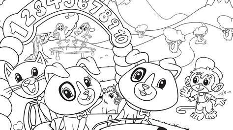 Numberland Coloring Page Leap Frog Coloring Pages