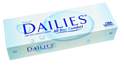 most comfortable daily contact lenses daily disposable contact lenses acuvue 1 day focus dailies