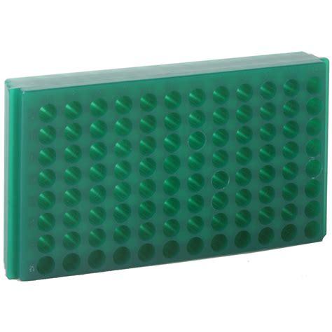 Microcentrifuge Rack bio plas 96 well autoclavable polypropylene reversible