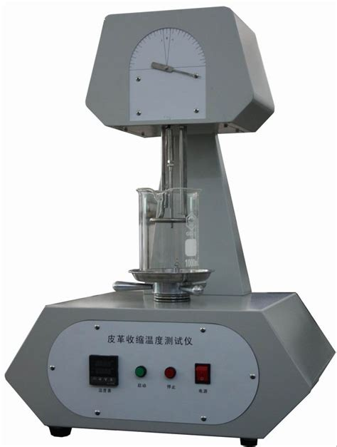 Tester Degree by Shrinkage Temperature Leather Testing Equipment 4 Groups Type Normal Temp To 150 Degree
