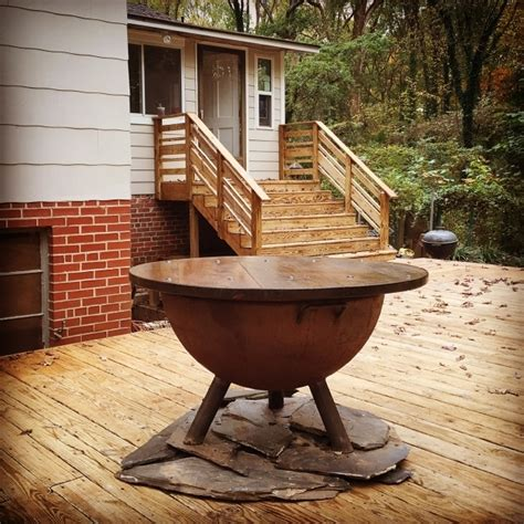 can i have a fire pit in my backyard alluring can i safely use a ss fire pit on my deck how to