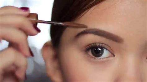 tutorial bentuk alis wajah bulat tips cantik membentuk alis sesuai bentuk wajah toko