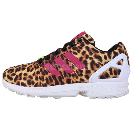 adidas originals zx flux leopard print torsion 2014 womens running casual shoes ebay