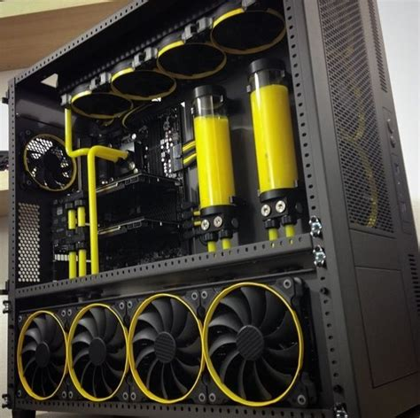 Water Cooling Costum project skunkworks by jayztwocents computers