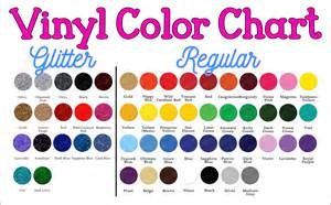 vinyl colors color charts sew pbj