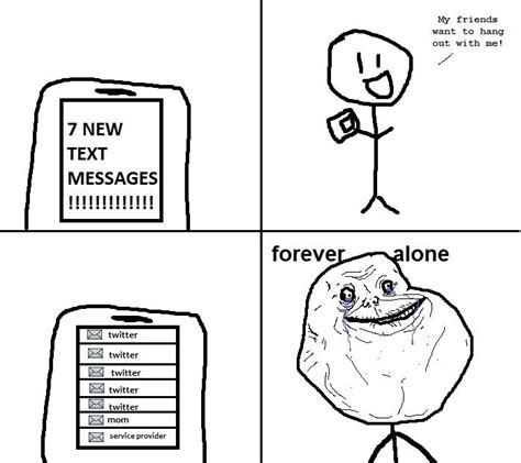 Forever Alone Know Your Meme - image 83353 forever alone know your meme