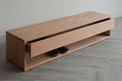 end of bed dresser black lotus oak end of bed drawer unit natural bed company