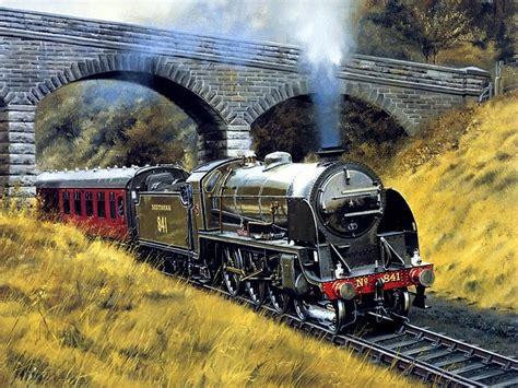 painting trains trains