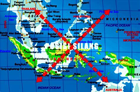 pengertian  pengaruh letak geografis indonesia terhadap