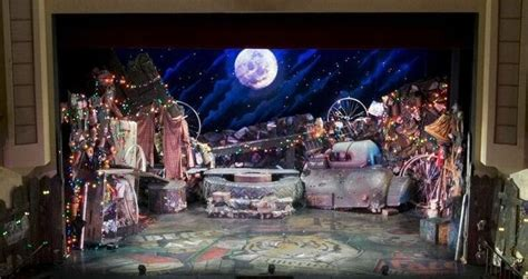 musical set set design cats the musical cats design