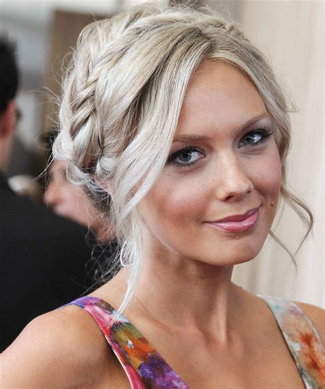 Melissa Ordway Updo Long Curly Casual Braided Updo