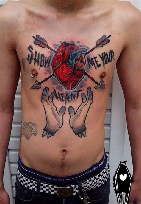 tattooed heart top 17 best images about best 3d heart tattoos in the world on
