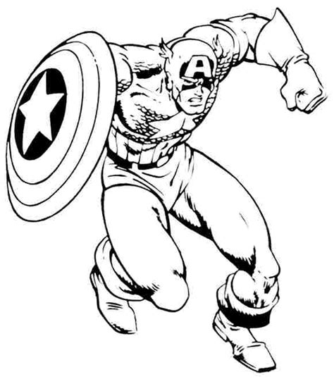 captain america printable coloring pages free coloring