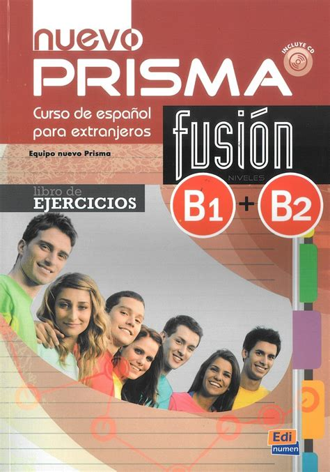 libro nuevo prisma b1 student nuevo prisma fusion libro de ejercicios b1 b2 opracowanie zbiorowe książka w sklepie empik com