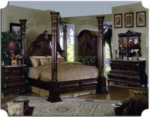 bedroom furniture set metal canopy