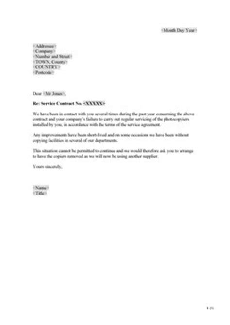 Withdrawal Letter Of Complaint Complaint End Business Relationship Uk Sign On