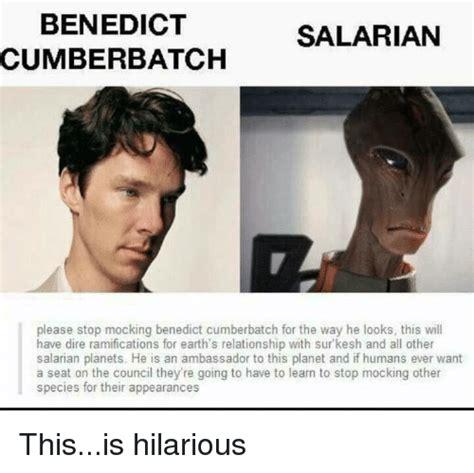 Cumberbatch Meme - benedict salarian cumberbatch please stop mocking benedict cumberbatch for the way he looks this