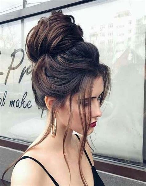 messy updo for long hair that take 5 minutes messy bun for 2017 latest hairstyle pinterest messy