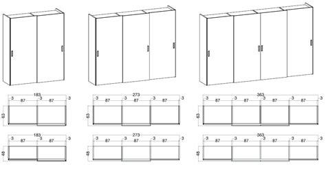 misure armadio ante scorrevoli misure degli armadi in legno scandola mobili