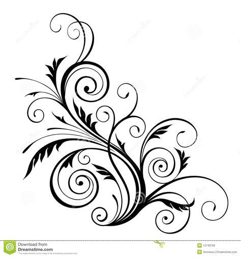 design pattern elements 18 single floral vector design elements images floral