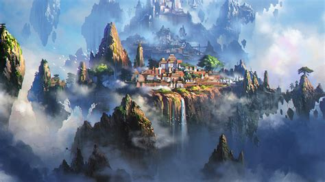 love papers av cloud town fantasy anime liang xing