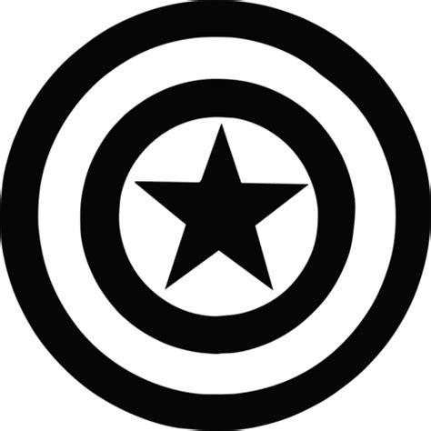 Capitan Estenlis marvel captain america shield vinyl decal cameo siluetas capit 225 n