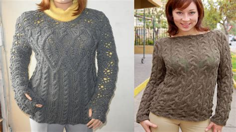modelos de chompas para mujer chompas mujer tejidas a crochet youtube