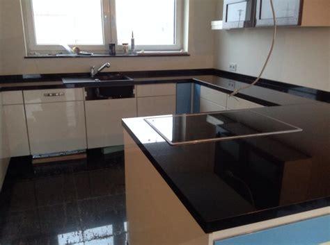 Küchenarbeitsplatte by Darmstadt Black Granit K 252 Chenarbeitsplatten