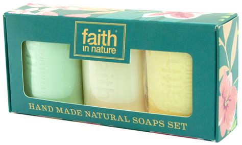 By Nature Handmade Soaps - faith in nature handmade soap gift set faith in nature