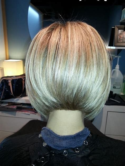 photos of the back of short angled bob haircuts angled bob haircut hair pinterest beautiful bobs
